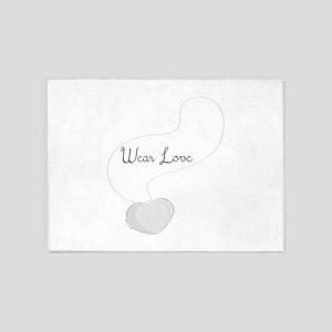 Wear Love 5'x7'Area Rug