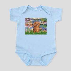 Lilies (2) & Doxie (LH-Sable) Infant Bodysuit