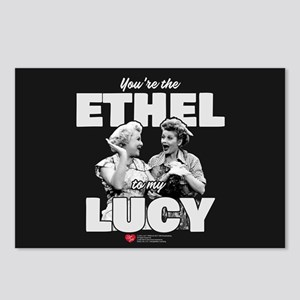 Ethel to my Lucy Postcards (Package of 8)