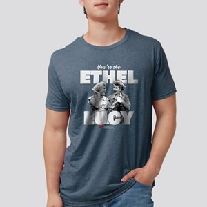 Ethel to my Lucy Mens Tri-blend T-Shirt
