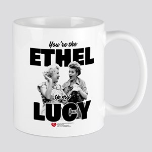 Ethel to my Lucy 11 oz Ceramic Mug