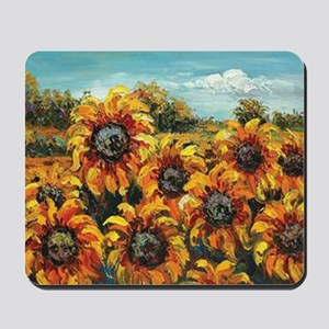 Country Sunflower Mousepad