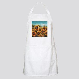 Country Sunflower Apron