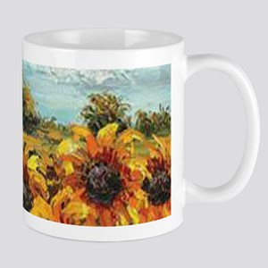 Country Sunflower Mugs