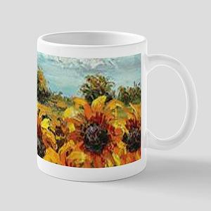 Country Sunflower Mugs