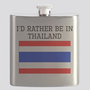 Id Rather Be In Thailand Flask