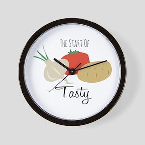 Soups Up! Wall Clock