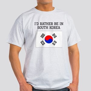 Id Rather Be In South Korea T-Shirt