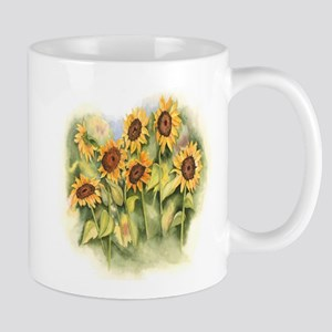 Field of Sunflower Mugs