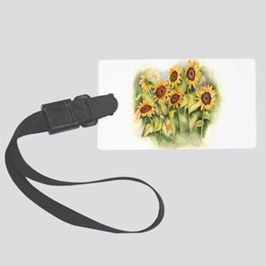 Field of Sunflower Luggage Tag