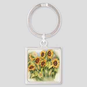Field of Sunflower Keychains