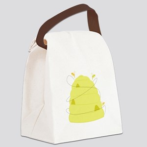 Bee Hive Canvas Lunch Bag