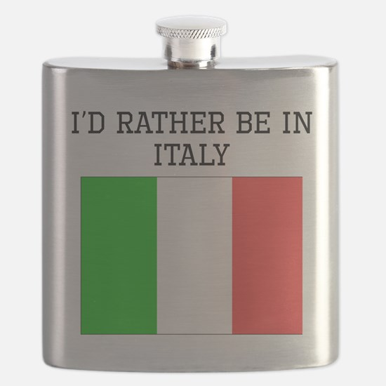 Id Rather Be In Italy Flask