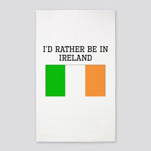 Id Rather Be In Ireland Area Rug