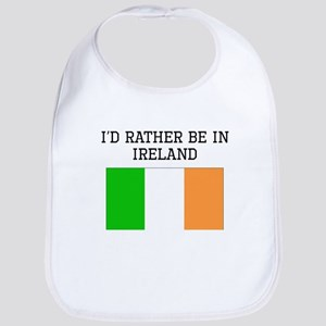 Id Rather Be In Ireland Bib