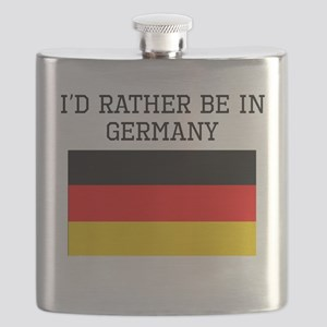 Id Rather Be In Germany Flask
