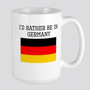 Id Rather Be In Germany Mugs
