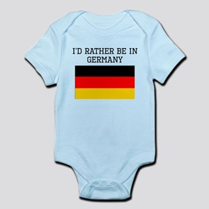 Id Rather Be In Germany Body Suit