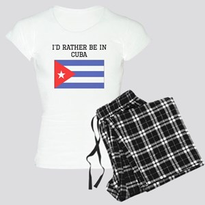 Id Rather Be In Cuba Pajamas