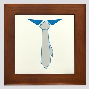 Business Tie Framed Tile
