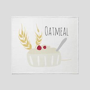 Oatmeal Throw Blanket