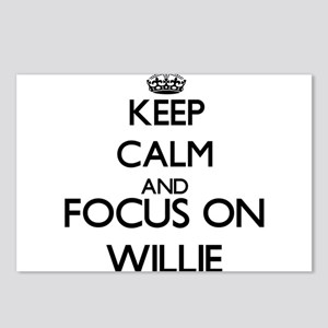 Keep Calm and Focus on Wi Postcards (Package of 8)
