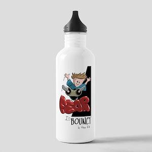 Fear is bouncy Stainless Water Bottle 1.0L