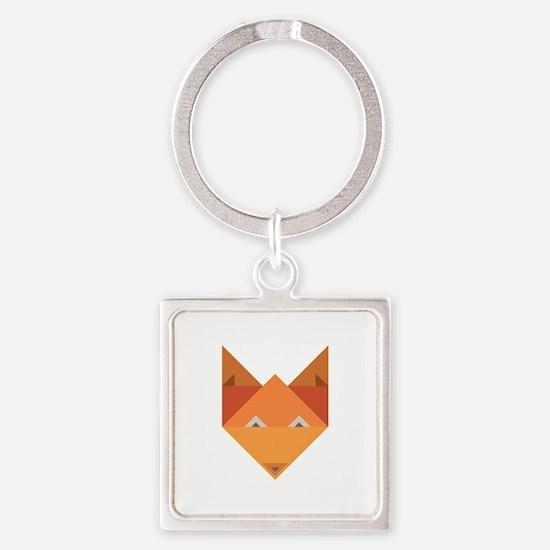Origami Fox Keychains