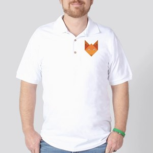 Origami Fox Golf Shirt