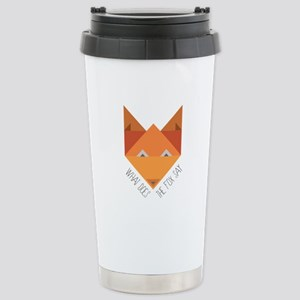Fox Say Travel Mug