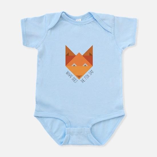 Fox Say Body Suit
