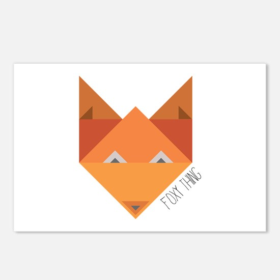 Foxy Thing Postcards (Package of 8)