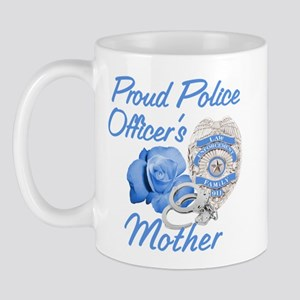 Blue Rose Police Mother Mug