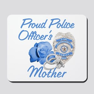 Blue Rose Police Mother Mousepad