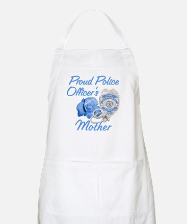 Blue Rose Police Mother BBQ Apron