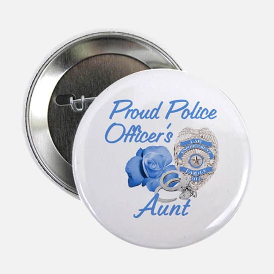 Blue Rose Police Aunt Button