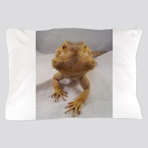 Rebney on white Pillow Case