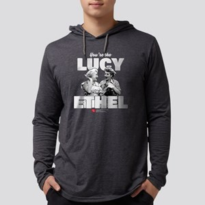 Lucy to my Ethel Mens Hooded Shirt