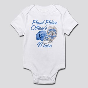 Blue Rose Police Niece Infant Bodysuit