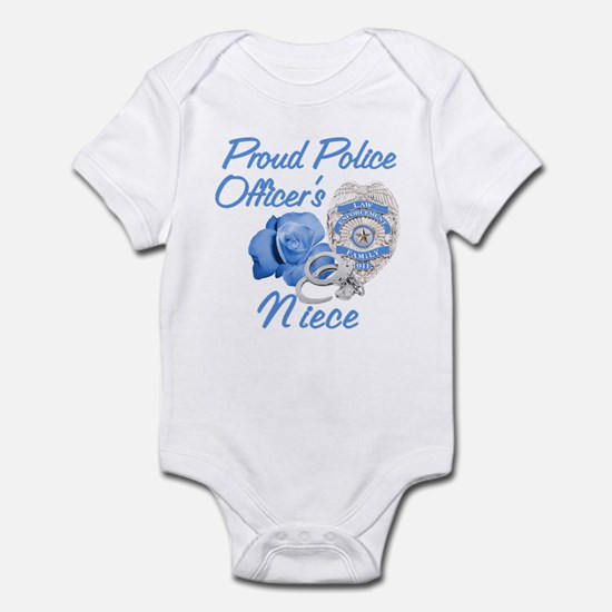 Blue Rose Police Niece Infant Bodysuit