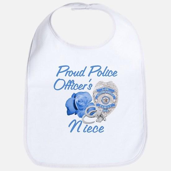 Blue Rose Police Niece Bib