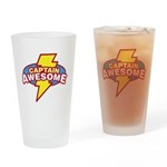 captawesome Drinking Glass