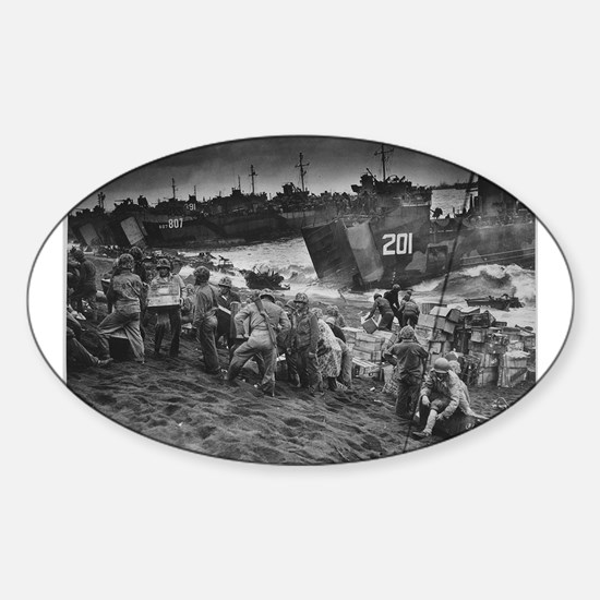 iwo jima Decal