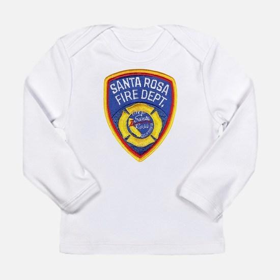 Santa Rosa Fire Long Sleeve T-Shirt