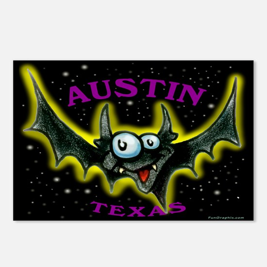 Cool Bat Postcards (Package of 8)