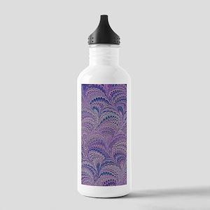 Mauve Fanfair Stainless Water Bottle 1.0L