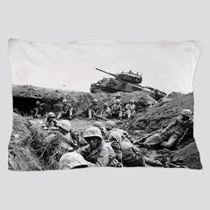 iwo jima Pillow Case