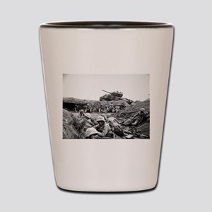 iwo jima Shot Glass