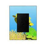 Green Sea Turtle and Tangs Picture Frame
