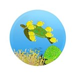 Green Sea Turtle and Tangs 3.5